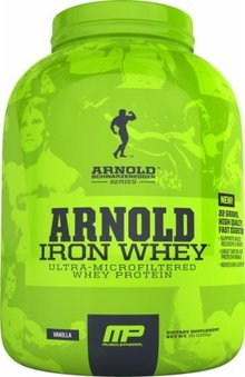 MusclePharm Arnold Schwarzenegger Iron Whey