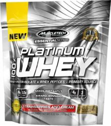 MuscleTech Platinum 100% Iso Whey