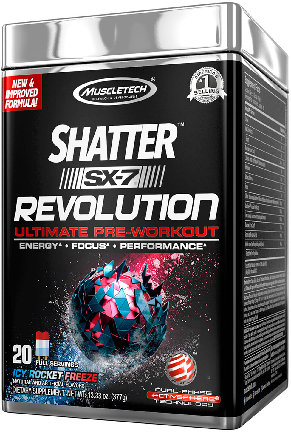 Muscletech Shatter Sx 7 Revolution Save At Priceplow