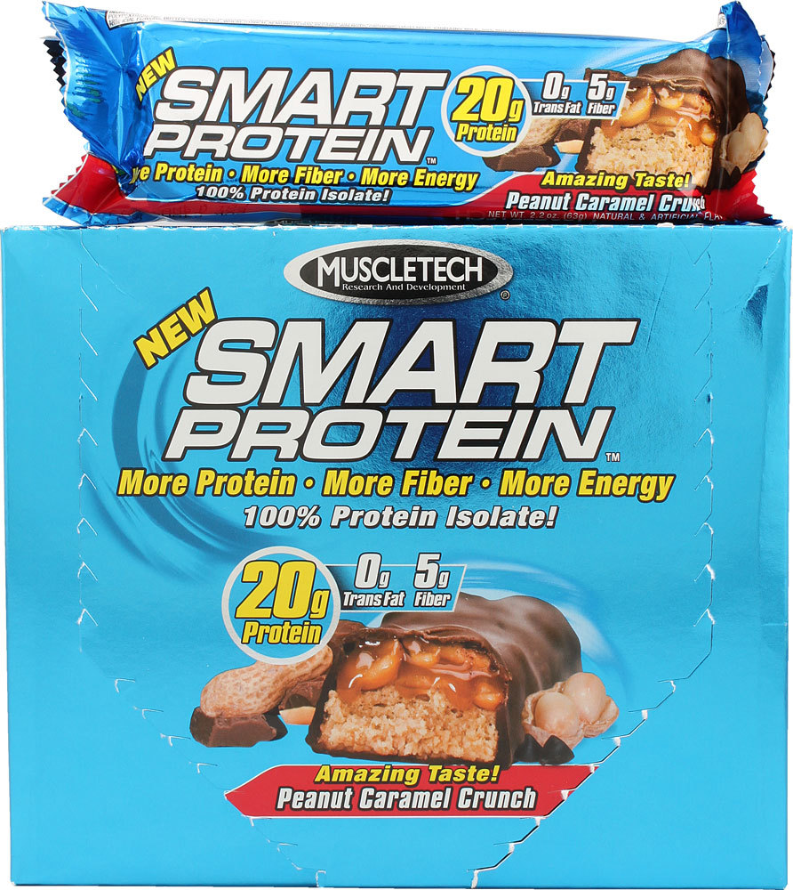 MuscleTech's Smart Protein Bars are on sale!