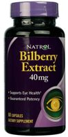 Natrol Bilberry Extract