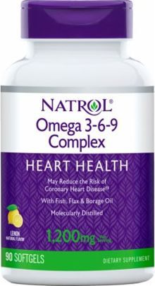 Natrol Omega 3 6 9 Complex News Prices At Priceplow
