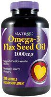Natrol Omega-3 Flax Seed Oil