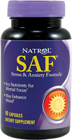 Natrol SAF Stress and Anxiety Formula