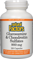 Natural Factors Glucosamine & Chondroitin Sulfates