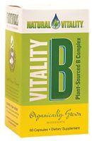 Natural Vitality Vitality B Complex