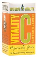 Natural Vitality Vitality C Complex