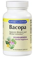 Nature's Answer Standardized Bacopa 500 mg