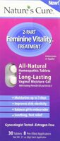 Nature's Cure Fem Care 2-Part Feminine Vitality Treatment