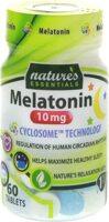 Nature's Essentials Melatonin 10mg