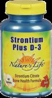 Nature's Life Strontium Plus D-3
