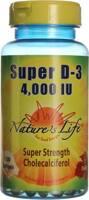 Nature's Life Super D-3