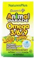 Nature's Plus Animal Parade Omega 3/6/9 Junior