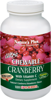 Nature's Plus Ultra Chewable Cranberry with Vitamin C