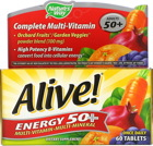 Nature's Way Alive! Energy 50+