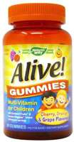 Nature's Way Alive! Gummies for Children