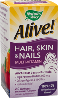 Nature's Way Alive! Hair, Skin & Nails Multivitamin