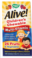 Nature's Way Alive! Multi-Vitamin Children's Chewable