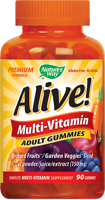 Nature's Way Alive! Multi-Vitamin Gummies for Adults