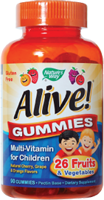 Nature's Way Alive! Multi-Vitamin Gummies for Children