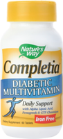 Nature's Way Completia - Diabetic Multi Vitamin