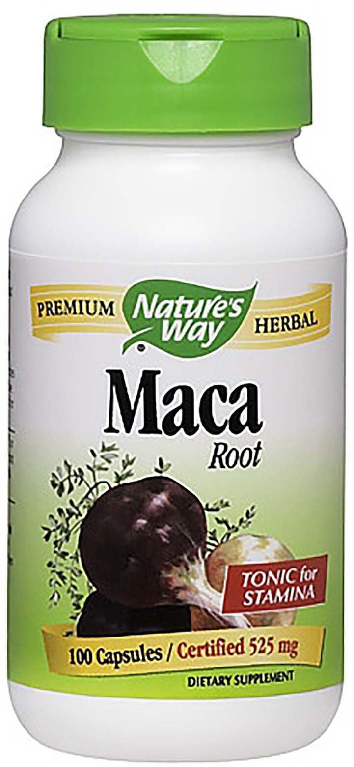 Are Nature S Way Maca Capsules Safe