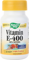 Nature's Way Vitamin E-400