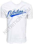 Netrition T-Shirt Baseball V-Neck Design