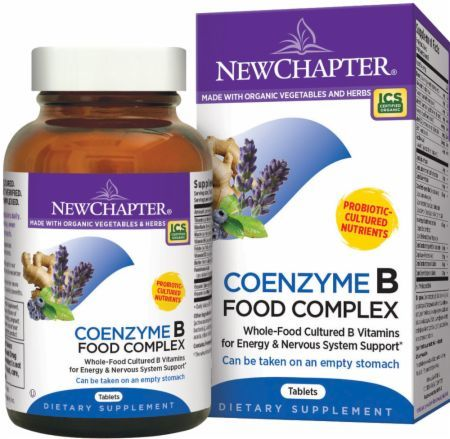 New Chapter Coenzyme B Food Complex Reviews