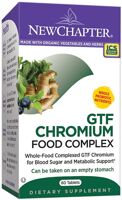 New Chapter GTF Chromium Food Complex