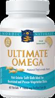 Nordic Naturals Ultimate Omega in Fish Gelatin, Lemon