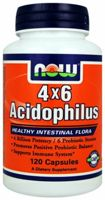 NOW 4x6 Acidophilus