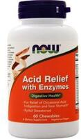 NOW Acid Relief with Enzymes