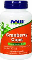 NOW Cranberry Caps