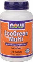 NOW EcoGreen Multi - Iron Free