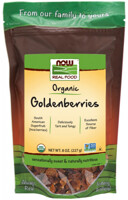 NOW GoldenBerries, Certified Organic
