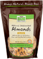 NOW Natural Unblanched Almonds