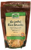 NOW Oriental Rice Snacks