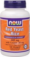 NOW Red Yeast Rice With CoQ10