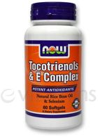 NOW Tocotrienols & E Complex