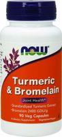 NOW Turmeric & Bromelain