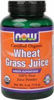 NOW Wheat Grass Juice Powder