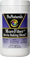 NuNaturals MoreFiber Stevia Baking Blend