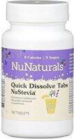 NuNaturals NuStevia White Stevia Quick Dissolve Tabs