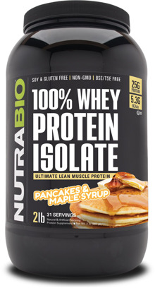NutraBio's New Whey Protein Isolate BREAKFAST Flavors are Out of this World!