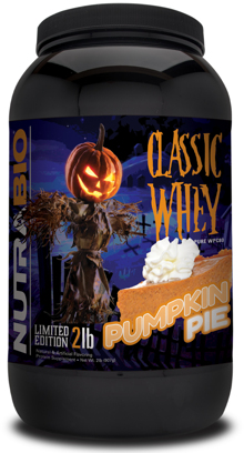 NutraBio Classic Whey Pumpkin Pie: So Good It's Scary!