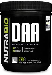 NutraBio D-Aspartic Acid