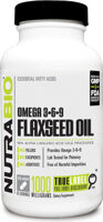 NutraBio Flaxseed Oil