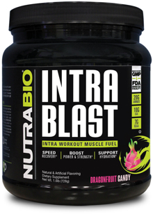 NutraBio Intra Blast Intra Workout for Athletes