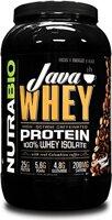 NutraBio Java Whey Protein